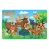Дитячий столик і стільчики 501-109 (EN) Зоопарк, фото 2