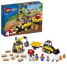 Lego City Будівельний бульдозер 60252