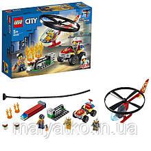 Lego City Пожежний рятувальний вертоліт 60248
