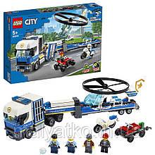 Lego City Поліцейський вертолітний транспорт 60244