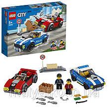 Lego City Арешт на шосе 60242