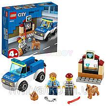 Lego City Поліцейський загін з собакою 60241
