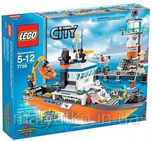 Lego CITY 7739 Корабель і Вежа служби берегового спостереження