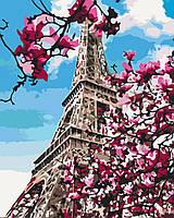 Картина по номерам рисование Brushme BS32320 Цветение магнолий в Париже