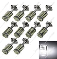 Светодиодная лампа  H1 127 СМД  6.5W 1Zh009 1206 СМД из светодиодов H1 P14.5s IEC7005-46 DIN49739 LED H1 6,7см