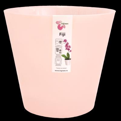 Горщик для квітів Фіджі Орхид D 160 мм / 1,6 л рожевий перламутровий
