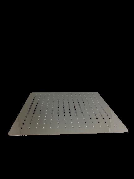 Лійка квадратна ультратонка для душу 400мм LD-11.SN02-400