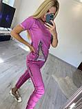 Жіночий трикотажний костюм (Туреччина); розміри S, M, 2 кольори., фото 3