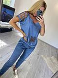 Жіночий трикотажний костюм (Туреччина); розміри S, M, 2 кольори., фото 6