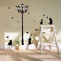 """Наклейка интерьерная на стену """"Котики"""""""