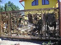 Изготовление кованых изделий и металлоконструкций в Киеве и области.