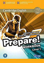 Cambridge English Prepare Workbook Level 1 А 1 Авт: Caroline Chapman Вид: Cambridge university press
