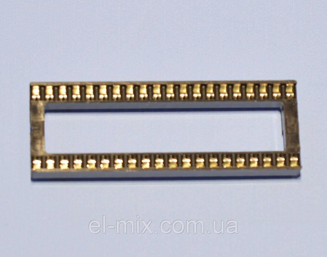 Панель под микросхему шаг2.54мм DIP40  Connfly, фото 1