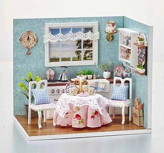 """Будиночок """"Верона - кухня"""" - Конструктор для дітей з дерева, ляльковий будиночок, модель будиночка ручної збірки"""