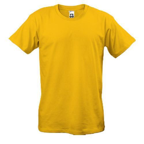 Чоловіча футболка жовта