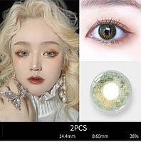 200225С. Цветные контактные линзы для глаз
