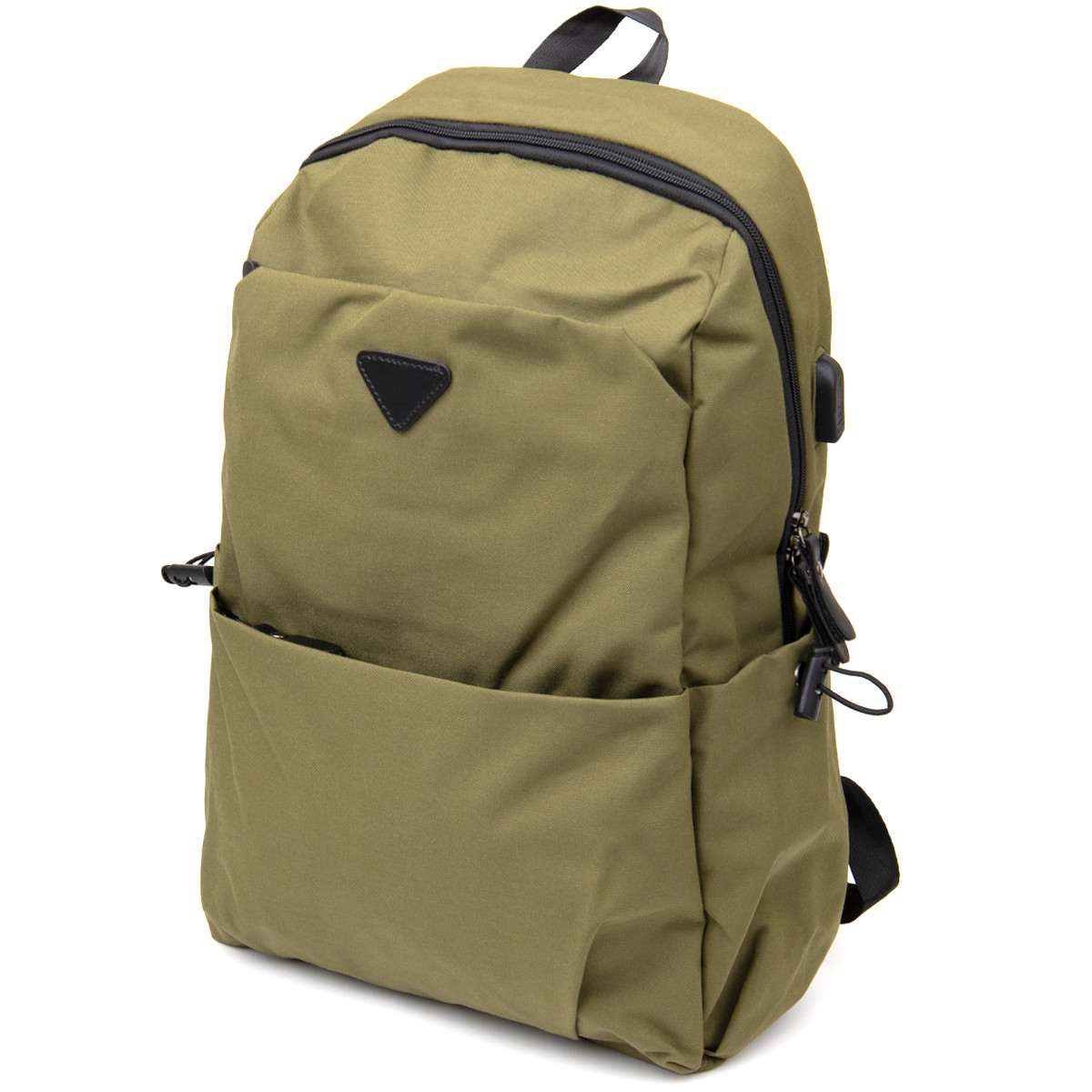 Рюкзак текстильний smart унісекс Vintage 20623 Оливковий