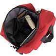 Рюкзак текстильный smart унисекс Vintage 20627 Малиновый, фото 3