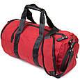 Спортивна сумка текстильна Vintage 20642 Малинова, фото 2