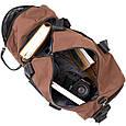 Спортивная сумка текстильная Vintage 20643 Коричневая, фото 3