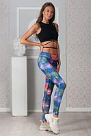 Женские лосины разноцветные SKL92-306002