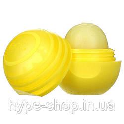 Солнцезащитный бальзам для губ с маслом ши с SPF 15 лимонный 7 г, EOS