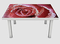 Наклейка на стол Zatarga 01 650х1200 мм Нежная роза Z180232 1 SP, КОД: 1833862