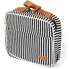 Сумка органайзер для подорожей текстильна Vintage 20652 Біла
