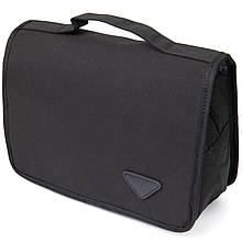 Текстильна сумка-органайзер в подорож Vintage 20657 Чорна