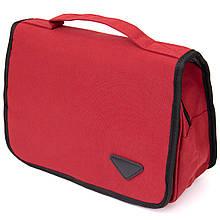 Текстильна сумка-органайзер в подорож Vintage 20658 Малинова