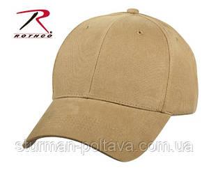 Бейсболка  мужская койот  PROFILE CAP - COYOTE  цвет койот  твил  ROTHCO США