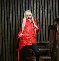 Демисезонная (евро -зима) женская куртка  44-54 р-р, фото 1