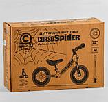 Велобег 12 CORSO SPIDER 67431 алюминиевая рама, фото 4