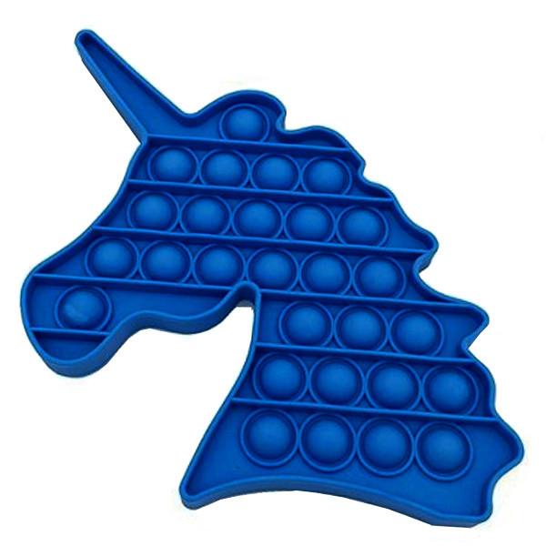 Опт Pop It Антистрес Іграшка - (Поп Іт - Попит - Popit) - Темно-синій Єдиноріг