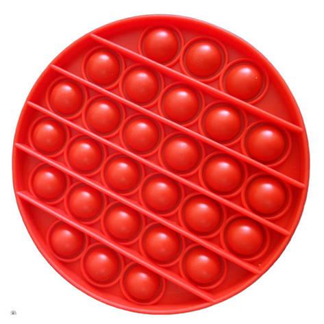 Опт Pop It Антистрес Іграшка - (Поп Іт - Попит - Popit) - Червоне коло, фото 2