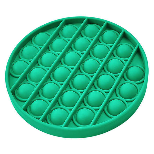 Pop It Антистресс Игрушка - (Поп Ит - Попит - Popit) - Зеленый круг