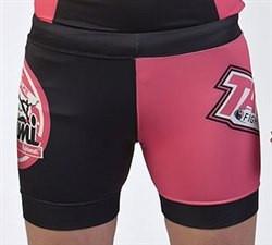 Компрессионные шорты TATAMI Gen X Vale Tudo Shorts Black & Pink