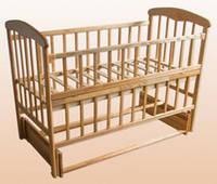 Кровать Наталка, откидная боковина и маятник, фото 1