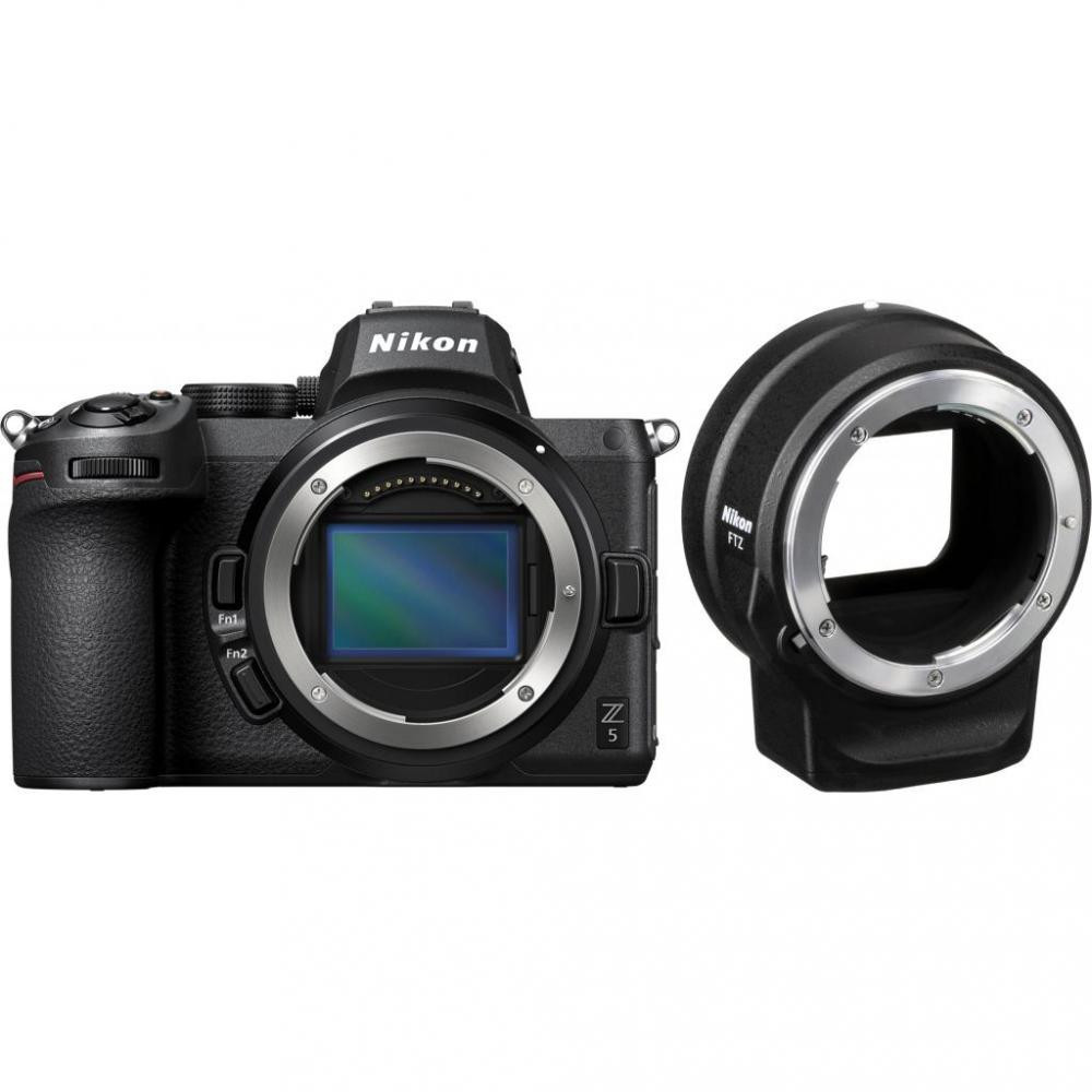 Камера NIKON Z5 BODY + FTZ ADAPTER
