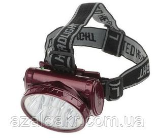 Налобний світлодіодний ліхтар Yajia YJ-1898