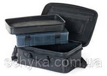 Сумка риболов.  EVA LURE BAG (EVA каучук, коробка+лоток) 400 x 225 x 140 / LJ4025-014