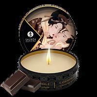 Массажная свеча Shunga Massage Candle, 30 мл (шоколад)