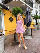 Літнє плаття жіноче короткий, на спині широка резинка, фото 2