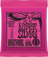 Струны Ernie Ball 2623 7-String Super Slinky 9-52