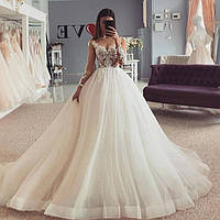 Свадебное платье кружево чарующее