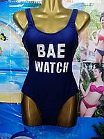 Купальник женский цельный BAE WATCH размер норма 36-42,цвет электрик