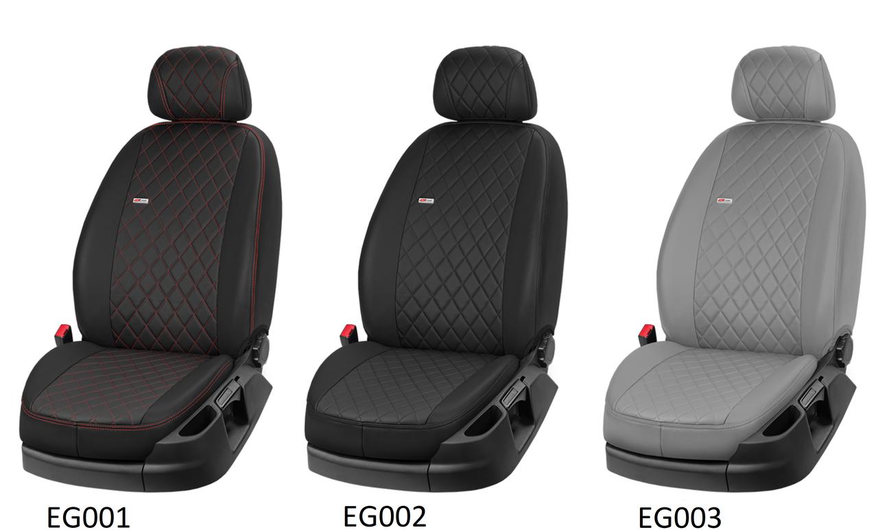 Чохли автомобільні з еко шкіри, модельні чохли Mercedes Actross, Atego, Citan Van, GLK, S124, Smart Roadster