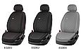 Чохли автомобільні з еко шкіри, модельні чохли на авто Nissan Tiida, Nissan Х-Treail, фото 2