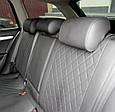 Чохли автомобільні з еко шкіри, модельні чохли на авто Nissan Tiida, Nissan Х-Treail, фото 7