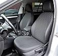 Чохли автомобільні з еко шкіри, модельні чохли на авто Renault Sandero, фото 6